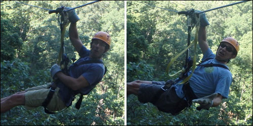 Monkeys on The Gorge Zip Lines in Saluda, NC
