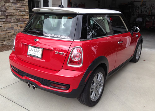 Almost New 2013 Chili Red MINI Cooper S