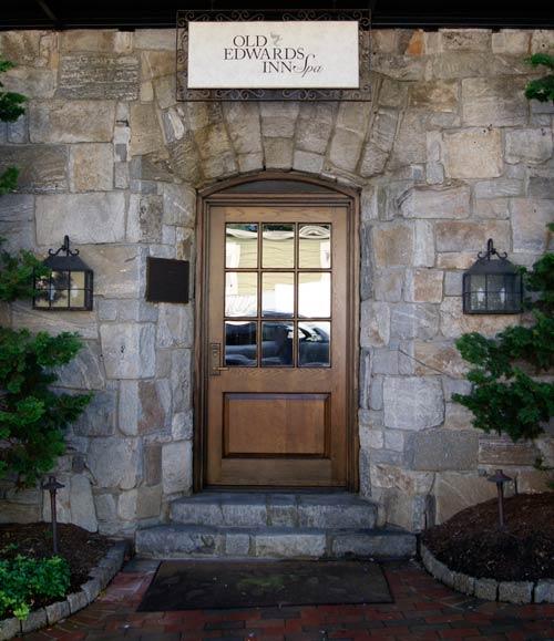 Entrance Old Edwards Inn, Highlands, North Carolina