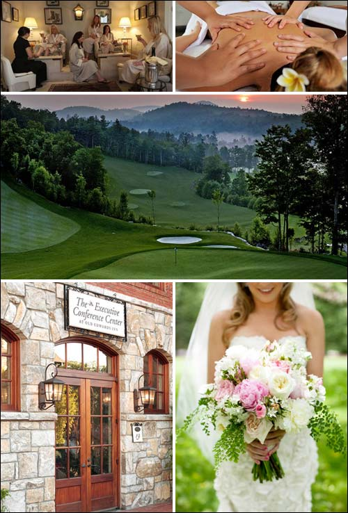 Old Edwards Inn and Spa Photo Montage