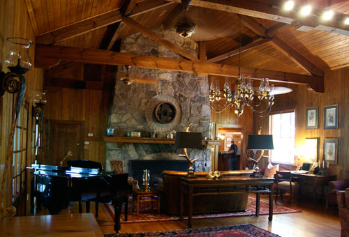 Piano Lounge at the Lodge on Lake Lure