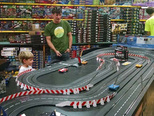Race Cars at OP Taylor's Toy Store