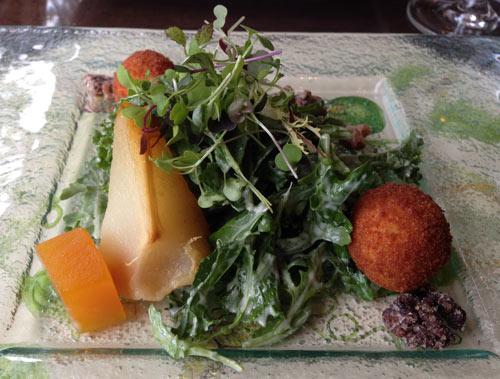 Pear Salad at Old Edwards Inn and Spa