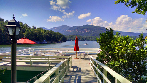 Spectacular Views at the Lodge on Lake Lure