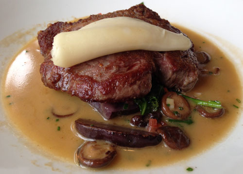 Ribeye Steak at Old Edwards Inn