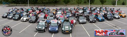 Annual MINIpalooza Event Tar Heel MINI Club