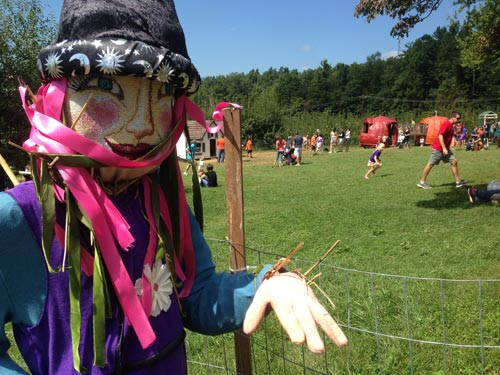 Sky Top Orchards Scarecrow