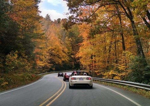 2015 Fall Car Club Ride to Highlands, NC