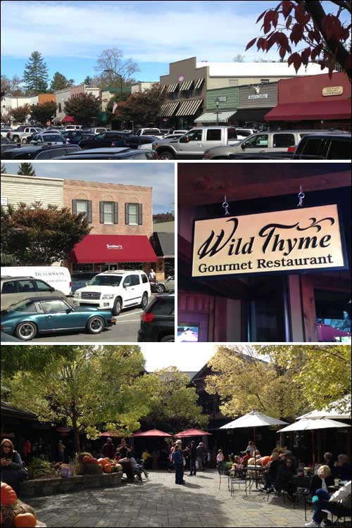 Downtown Highlands, NC, Fall 2015