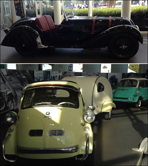 Pictures of Cars Inside the BMW Zentrum Museum