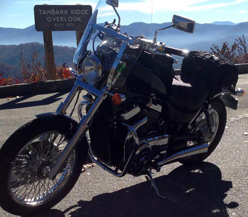 Cool November Ride on the Blue Ridge Parkway