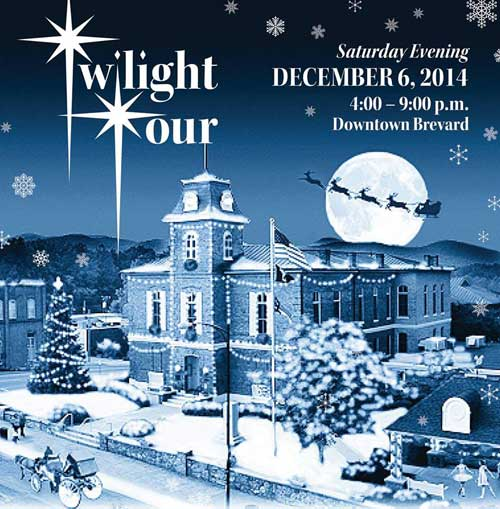Brevard NC Christmas Parade and Twilight Tour