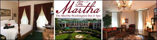 The Martha Washington Inn and Spa, Abingdon, Virginia