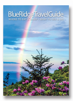 Cover of the latest Blue Ridge Travel Guide photo book.