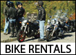 Motorcycle Rentals in the Blue Ridge Mountains of WNC, GA, VA and TN
