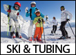 Skiing, Snowboarding, and Tubing in the Blue Ridge Mountains