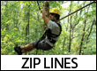 Zip Lines Canopy Tours in the Blue Ridge Mountains of NC, GA, TN, and VA