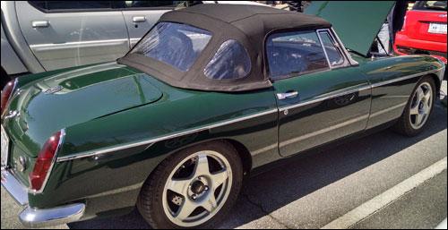 1965 British Racing Green MGB-V8
