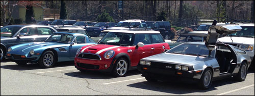 British Car Club of WNC Arrives at Jaguar-Land Rover of Asheville