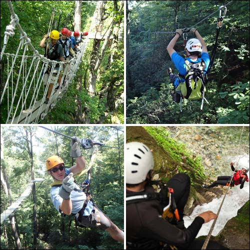Fast and Fun Zip Lines and Canopy Tours