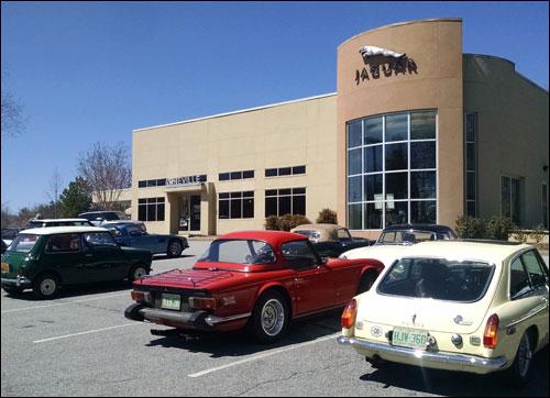 Jaguar of Asheville Luncheon for the British Car Club of WNC