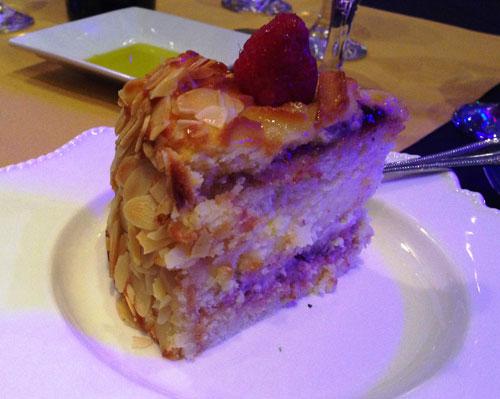 Renzo's Almond Cake Dessert