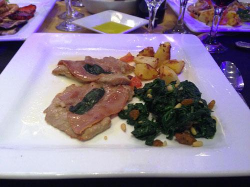 Renzo's Veal Saltamboca