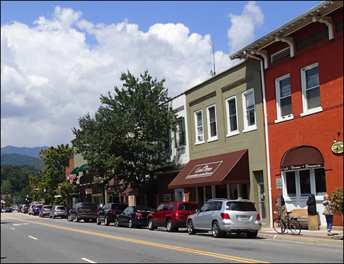 Small Town Shops in the Blue Ridge and Great Smoky Mountains