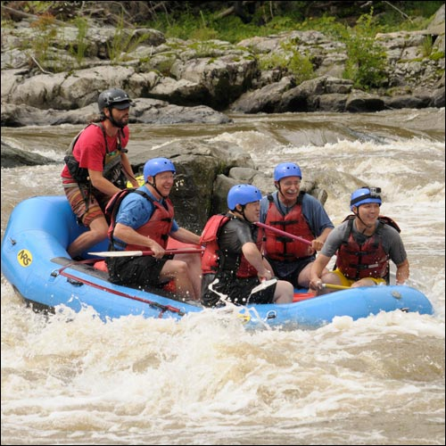 Whitewater Rafting, Kayaking, Tubing, and Canoeing in the Blue Ridge and Great Smoky Mountains
