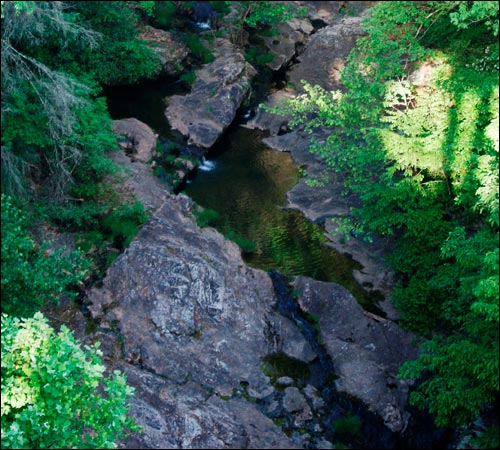 View of Gorge Near Saluda, NC