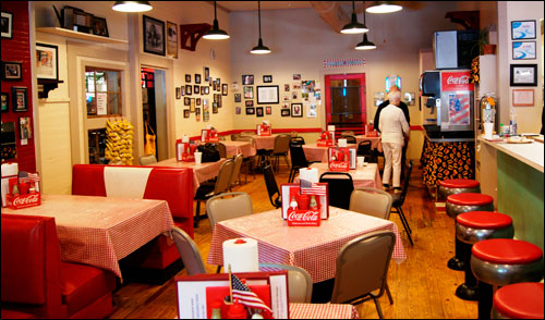 Nostalgic Look Inside Ward's Grill in Saluda, NC