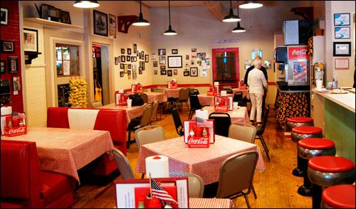 Nostalgic Look Inside Ward's Grill in Saluda, NC
