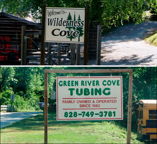 Tube Rentals on the Green River Near Saluda, NC