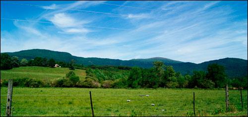 Nice View Near Saluda, NC