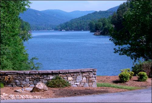 Beautiful View of Lake Lure