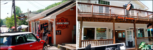 New Harley Davidson Store Next to Heavenly Hoggs in Chimney Rock, NC