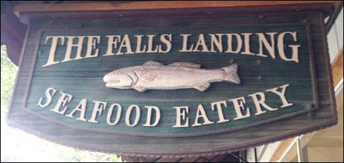 Falls Landing Seafood Restaurant, Brevard, NC