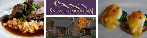 Dining at the Snowbird Mountain Lodge Restaurant