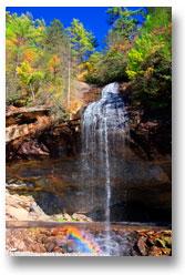 Bridal Veil Falls, Highlands, NC