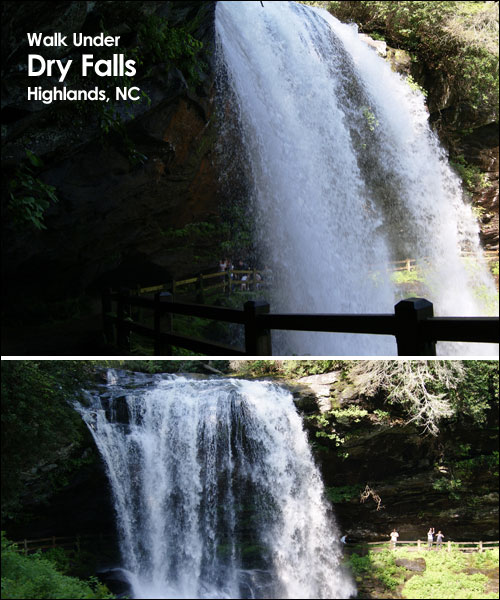 Dry Falls, Highlands, NC