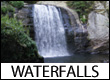 Waterfalls in Blue Ridge Mountains of NC, SC, VA, and GA