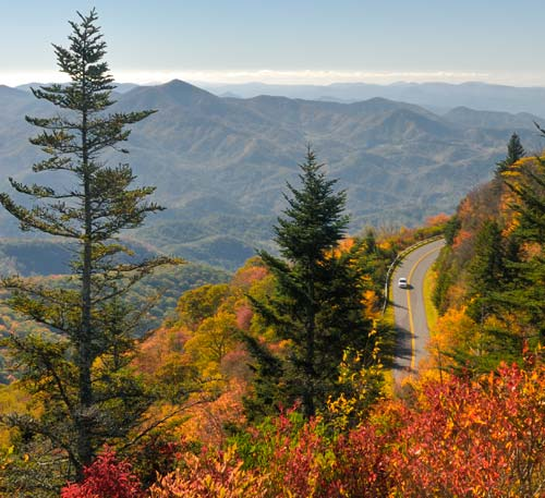 Blue Ridge Parkway Maps and Information