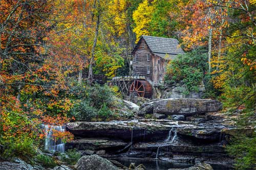 Click to see larger version or to purchase Grist Mill photo by Dennis Sabo