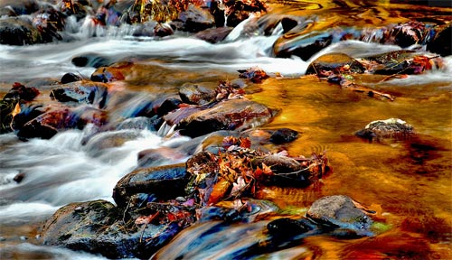 Click to see larger version or to purchase Smoky Reflection photo by Dennis Sabo